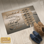 Personalized From 8 To 16 Grandkid's Names Family Canvases Pictures Puzzles Posters Quilts Blankets