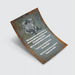 Vet Warning Sign Flags Canvases Posters Pictures Puzzles Quilts Blankets Shower Curtains