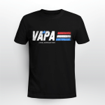 Vapa A Real American Hero Happy Father's Day Stickers Shirts Hoodies Cups Mugs Totes Handbags