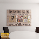 Personalized From 8 Names Family Members Canvases Pictures Puzzles Posters Quilts Blankets