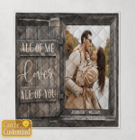 All Of Me Loves All Of You ( Couples - Husband - Wife Canvases, Pictures, Puzzles, Posters, Quilts, Blankets)