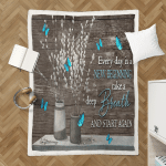 Everyday Is A New Beginning (Jesus - God - Christs - Christians Canvases, Pictures, Puzzles, Posters, Quilts, Blankets, Flags, Bath Mats)