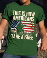 Shirts Hoodies Cups Mugs Totes Hand Bags For Veterans Army American On Knee