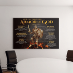 Armor Of God Knight Templar - Jesus - Christ - Christians (Canvases, Pictures, Puzzles, Posters, Quilts, Blankets, Flags, Door Mats)