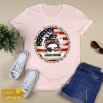 Personalized American Mama She Is Clothed With Strength And Dignity (Vinyl Stickers, Shirts, Hoodies, Cups, Mugs, Totes, Handbags)