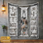 Personalized I Wish Couple (Canvases, Pictures, Puzzles, Posters, Quilts, Blankets, Flags, Bath Mats)