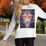 Jesus Lion Cross (God - Christ - Christians, Canvases, Posters, Puzzles, Quilts, Blankets, Phone Cases, Shirts, Hoodies, Cups)