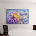 Just Breath (Jesus - Christs - Christians, Canvases, Pictures, Puzzles, Posters, Quilts, Blankets, Flags, Bath Mats, Led Lamp, Stickers)