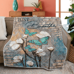 Just Breath Cotton Flower Jesus (Christs - Christians, Canvases, Posters, Pictures, Puzzles, Quilts, Blankets, Shower Curtains, Led Lamp, Stickers)