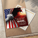 One Nation Under God (Jesus - Christs - Christians, Flags, Canvases, Posters, Pictures, Puzzles, Quilts, Blankets, Shower Curtains, Led Lamp, Stickers)