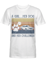 Dog And Her Challenger Shirts / Mugs For Dogs Lovers