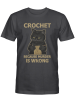 Crochet Cat Shirts Hoodies Cups Mugs Hand Bags Totes For Cat Lovers