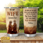 Personalized Tumblers For Husband Wife Couples
