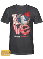 Personalized Shirts / Mugs / Totes / Hand Bags Happy Valentine For Horses Lovers