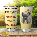 Personalized Dog Pictures Shining Tumblers 20oz For Dogs Lovers