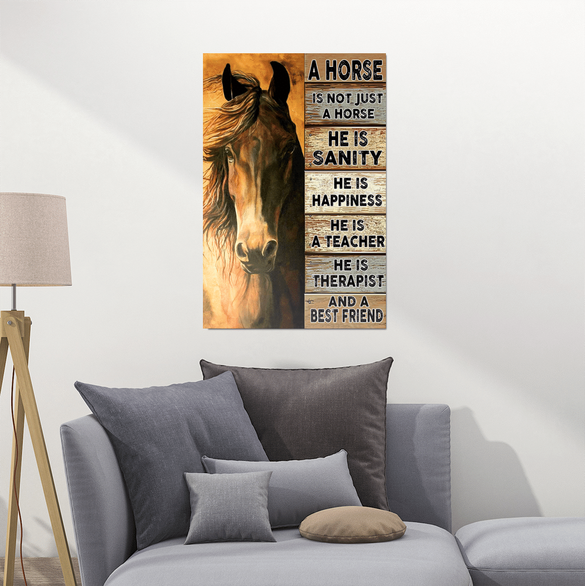 Horse Is My Best Friend Posters / Puzzles For Horses Lovers