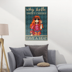 Hippie Chibi Canvas Puzzles For Hippie Lovers