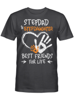 Stepdad And Stepdaughter Shirts Hoodies Cups Mugs Hand Bags Totes