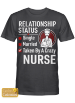 Personalized (job title within 5 letters) Shirts Hoodies Cups For Nurses Husbands Boyfriends Couples