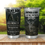 To My Son Tumbler Cup For Son Hunting