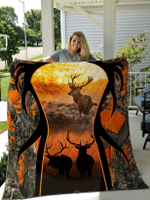 Deer Hunting Bedsets / Quilts / Blankets / Shower Curtains For Hunting Lovers