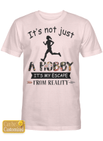 It's Not Just A Hobby Running Shirts / Totes / Mugs / Hand Bags For Runners