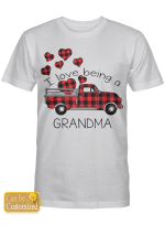 Personalized Shirts Hoodies Cups Hand Bags For Grandma I Love Being