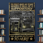 Canvas Posters Puzzles For Truckers Life