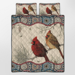 Bedding Set Bedset Blankets Quilts Puzzles Posters Shower Curtains For Couples Cardinals