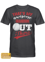 Personalized That's My Awesome Grandson Hockey Sport Shirts/ Mugs / Totes