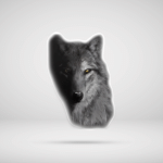 Cool Wolf Face Stickers Shirts Hoodies Cups Mugs Handbags Totes
