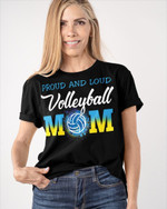 Personalized Loud Proud Volleyball Sports Mom Shirts / Hoodies / Mugs / Cups / Totes / Hand Bags Mother Day Gifts
