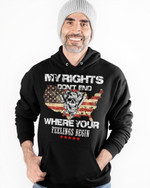 My Rights Don't End Stickers Shirts Hoodies Cups Mugs Totes Handbags