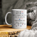 Personalized Dog Name - Happy Mother's Day Stickers Shirts Hoodies Cups Mugs Totes Handbags