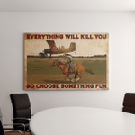 Choose Something Fun Horses Riding Gifts Canvases Pictures Puzzles Posters Quilts Blankets