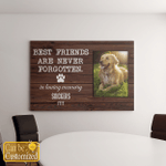 Best Friends Are Never Forgotten Dog Canvases Pictures Puzzles Posters Quilts Blankets