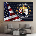 One Nation Under God Jesus Christians Christs Canvases Pictures Puzzles Posters Quilts Blankets