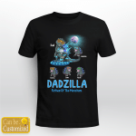 4 Kids Dadzilla Father Of Monsters Father's Day  Gifts Shirts Hoodies Cups Mugs Totes Handbags