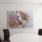 God Created The Horses ( Jesus - Christ - Christians Canvases, Pictures, Puzzles, Posters, Quilts, Blankets, Flags, Bath Mats)