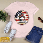 Personalized American Mama She Is Clothed With Strength And Dignity (Jesus - Christs - Christians, Vinyl Stickers, Shirts, Hoodies, Cups, Mugs, Totes, Handbags)