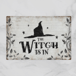 The Wtch is in - Halloween (Doormats, Bath Mats, Shower Curtains)