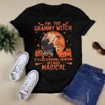 I'm The Grammy Witch (Halloween, Gifts For Grandma, Vinyl Stickers, Shirts, Hoodies, Cups, Mugs, Totes, Handbags)