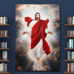 Jesus Reaching Hands (Christs - Christians, Canvases, Posters, Pictures, Puzzles, Quilts, Blankets, Shower Curtains, Led Lamp)