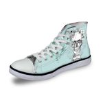 3D Print Suger Skull Men Women High Top Casual Canvas Shoes Skeleton Design Flat Sneakers Sports Shoes AK19022