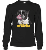 Pittburg Steelers To All My Haters Dog Licking   Long Sleeve T-Shirt