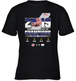 2019 Women's World Soccer Cup Champions  Youth T-Shirt