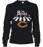 NFL Chicago BearsThe Beatles Abbey Road Walk  Youth Long Sleeve T-Shirt