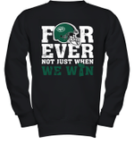 NFL Forever New York Jets  Not Just When We WIN Youth Sweatshirt