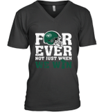 NFL Forever New York Jets  Not Just When We WIN V-Neck T-Shirt