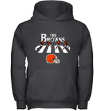 NFL Cleveland Browns The Beatles Abbey Road Walk Youth Hoodie